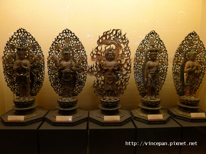 五尊菩薩像