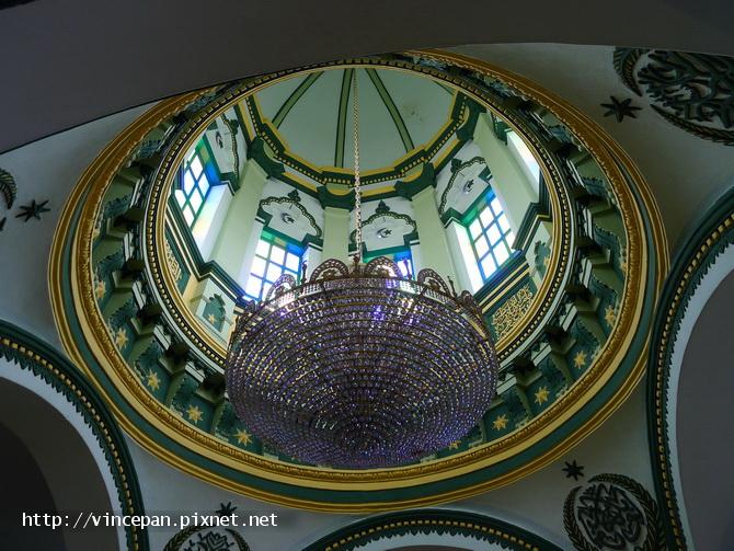 阿都卡夫回教堂  燈飾
