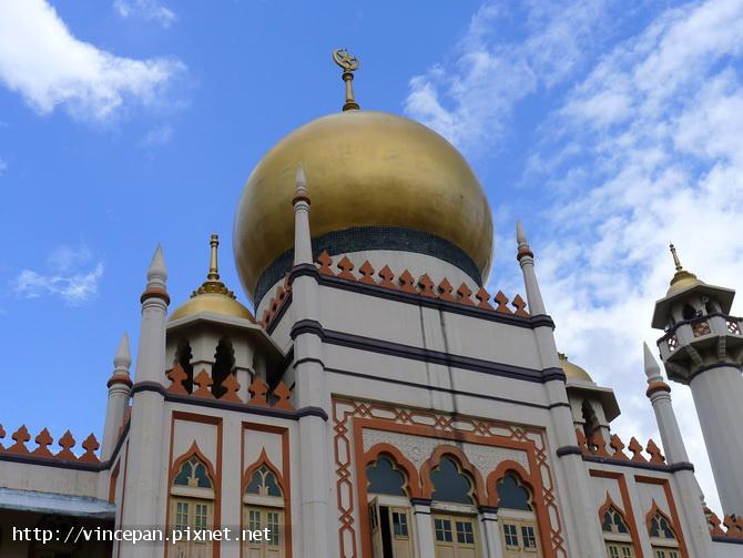 蘇丹回教堂金黃色圓頂