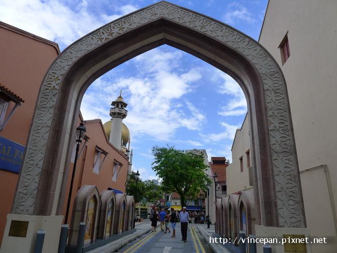 蘇丹回教堂出入口拱門