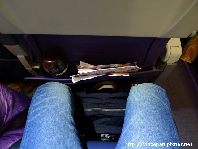 機艙座位大小