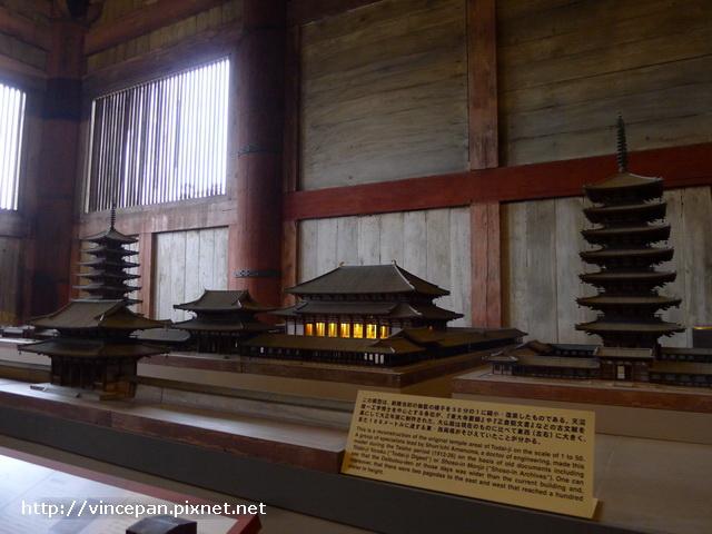 東大寺的建築群