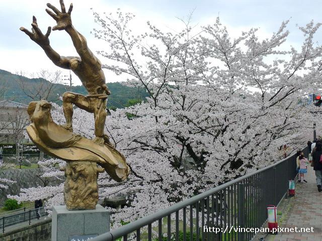 岡崎疏水 雕像