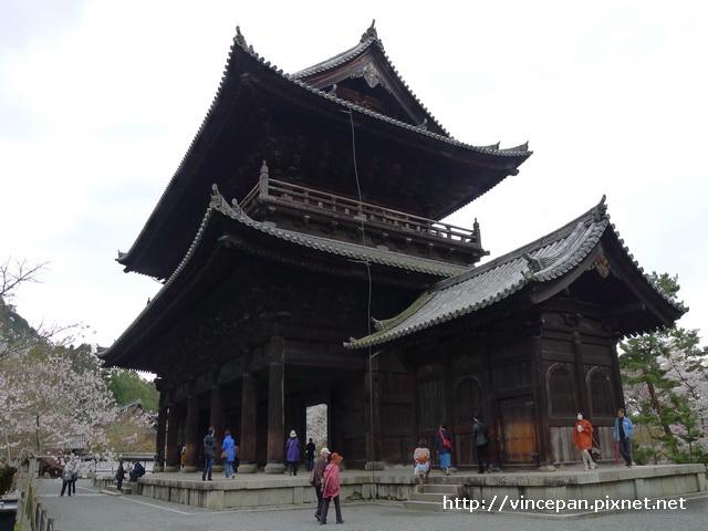 南禪寺三門  側面