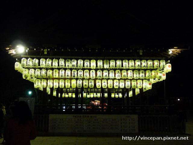 八坂神社  獻燈