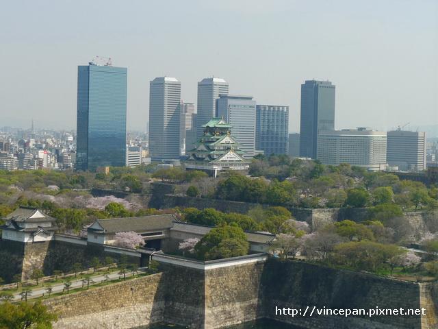 大阪城  遠