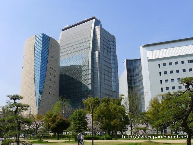 大阪歷史博物館 NHK  遠看