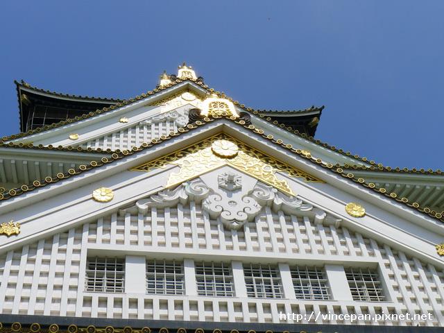 大阪城天守閣 屋簷2