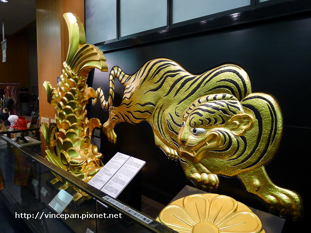 金鯱與金色老虎