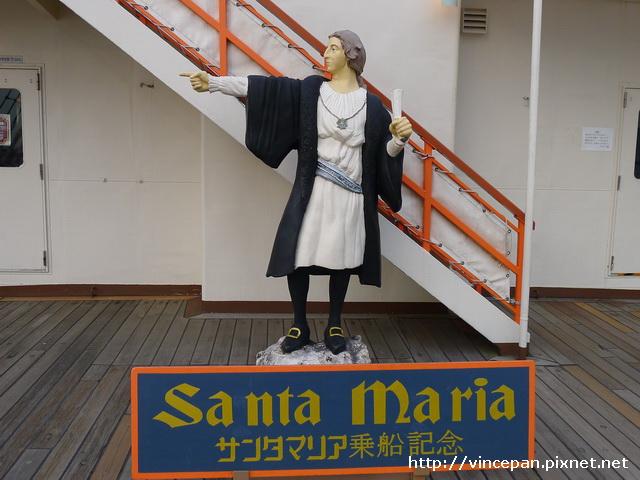 哥倫布的塑像