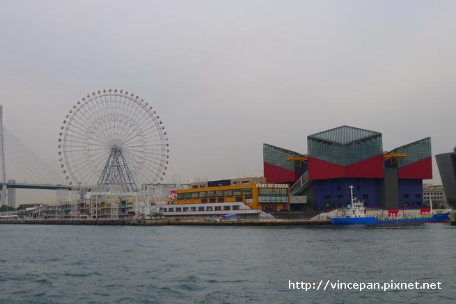摩天輪 海遊館