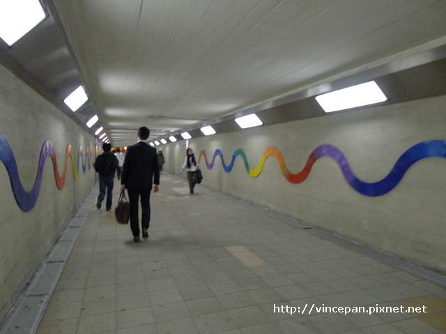 地下道 往梅田