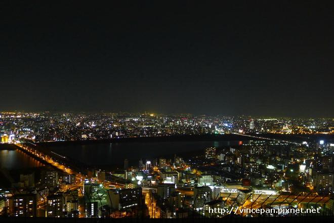 梅田夜景 河流