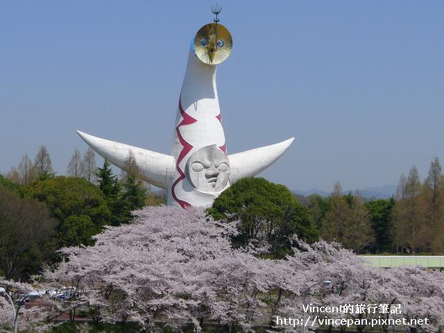 太陽之塔 櫻花