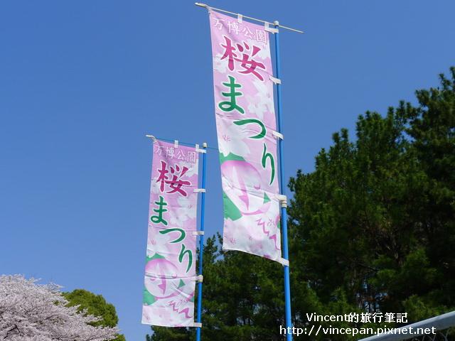 櫻花祭  旗子