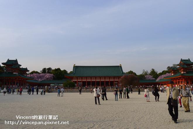 平安神宮 遊客