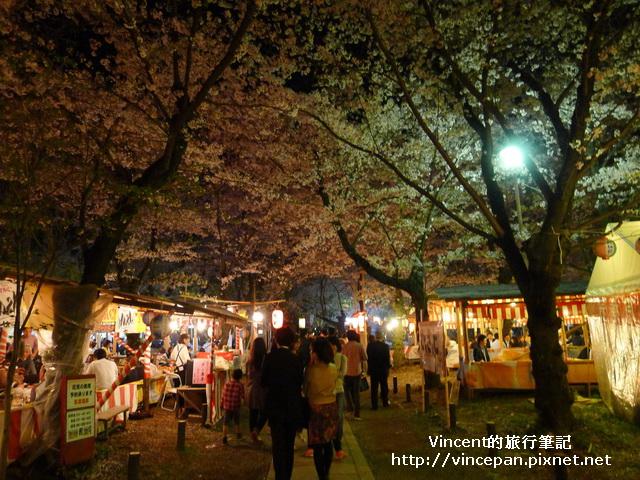 平野神社 夜櫻2