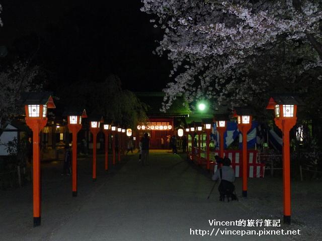 平野神社 參道