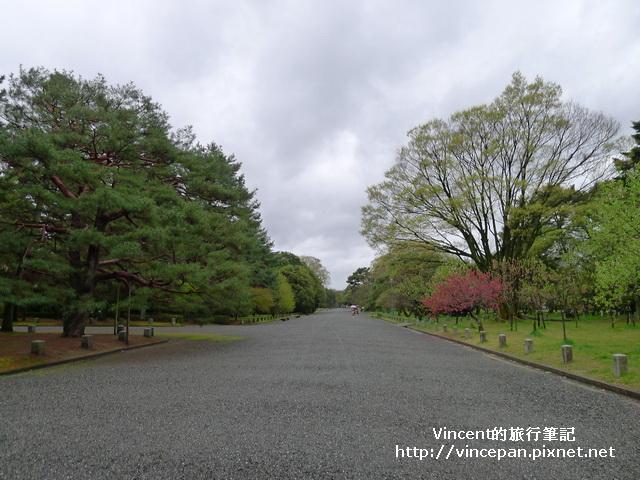 京都御苑石子路