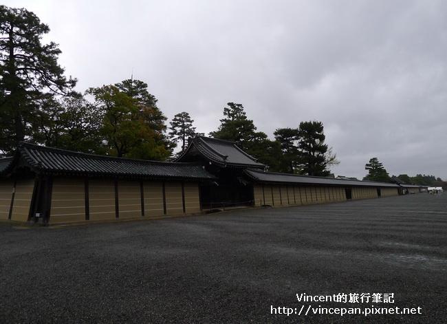 京都御所 外牆2