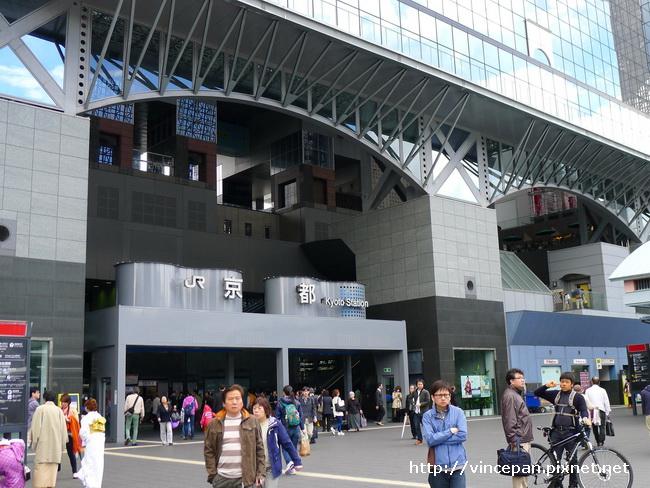 京都車站 門口
