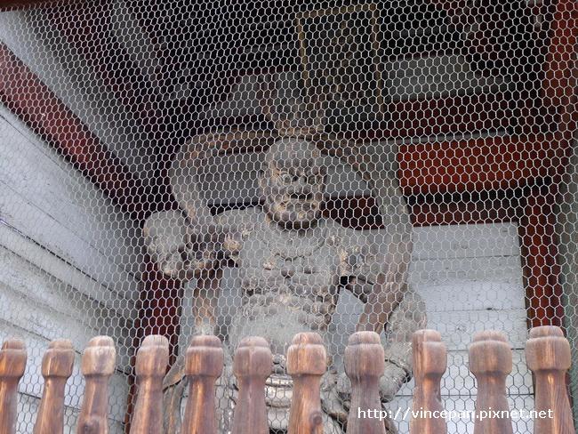 廣隆寺仁王像1