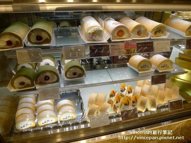 堂島Roll蛋糕 櫥櫃