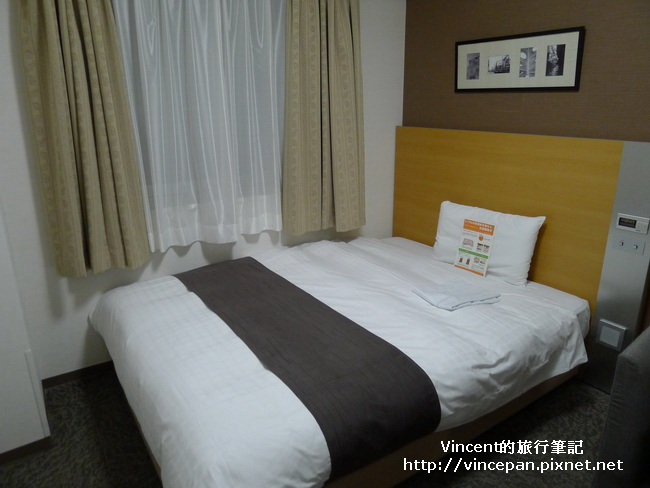 Comfort Hotel 床