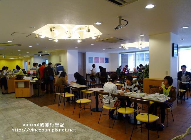 Comfort Hotel 用餐區