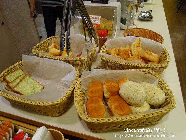 Comfort Hotel 麵包