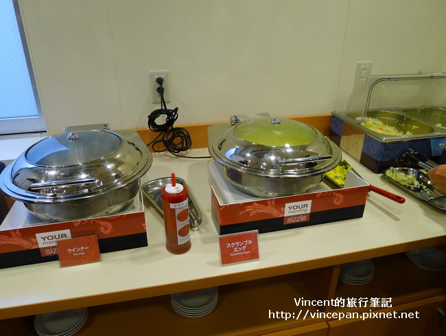 Comfort Hotel 蛋 香腸