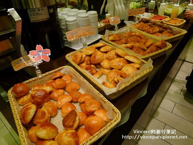 Via Inn京都四条  麵包