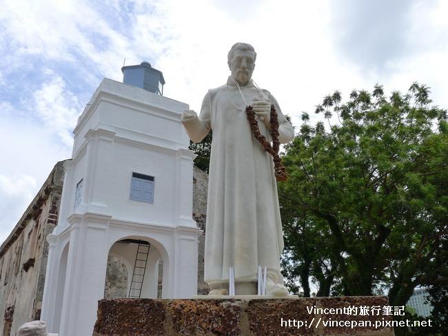 聖芳濟 像