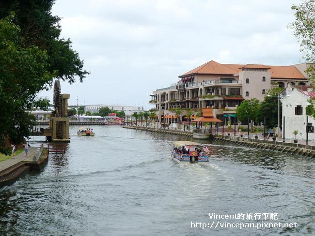 陳金聲橋欣賞馬六甲河2