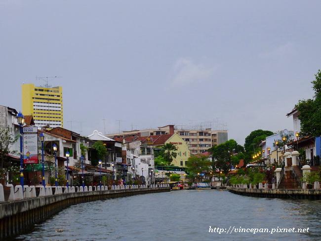 馬六甲河 河道