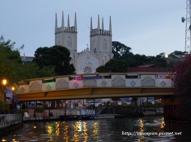馬六甲河 橋 教堂