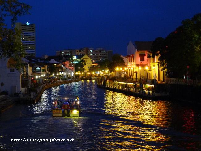 馬六甲河 夜景 1