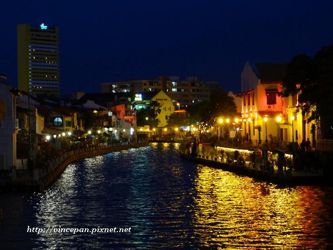 馬六甲河 夜景 2
