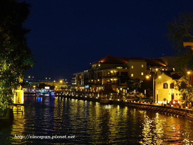 馬六甲河 夜景 3