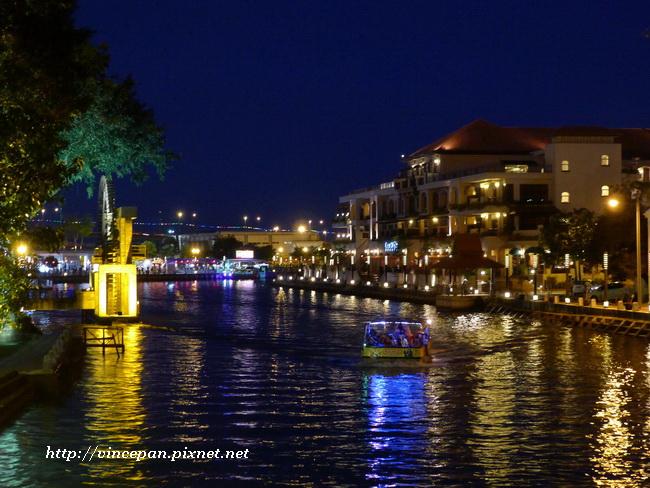 馬六甲河 夜景 4