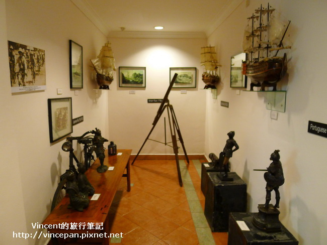 Hotel Puri 航海古物展示