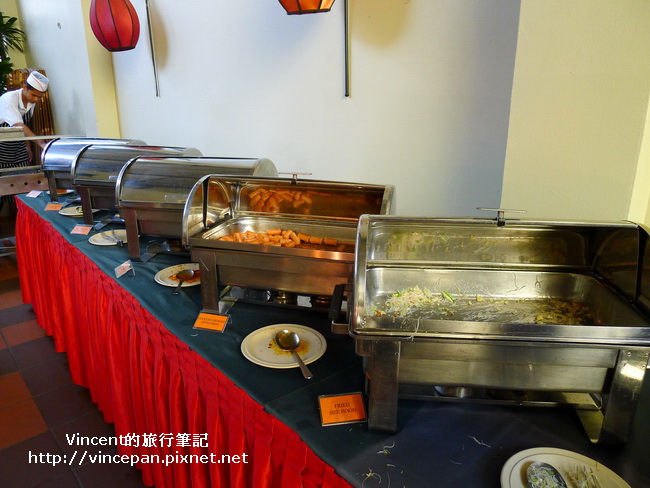 Hotel Puri 早餐 熱食