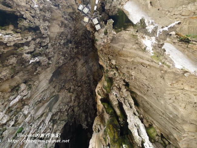光洞前 鐘乳石