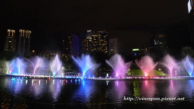KLCC公園 水舞1
