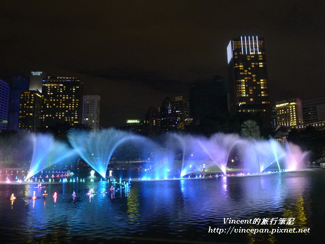 KLCC公園 水舞2