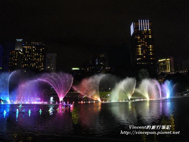KLCC公園 水舞3
