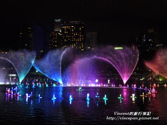 KLCC公園 水舞4