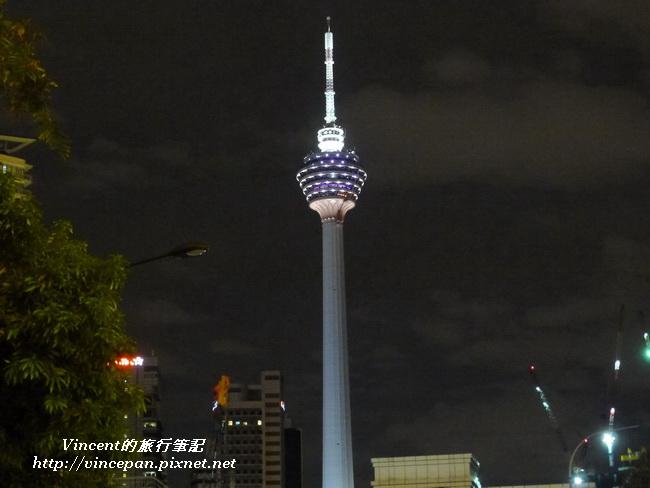 吉隆坡塔 夜 橫