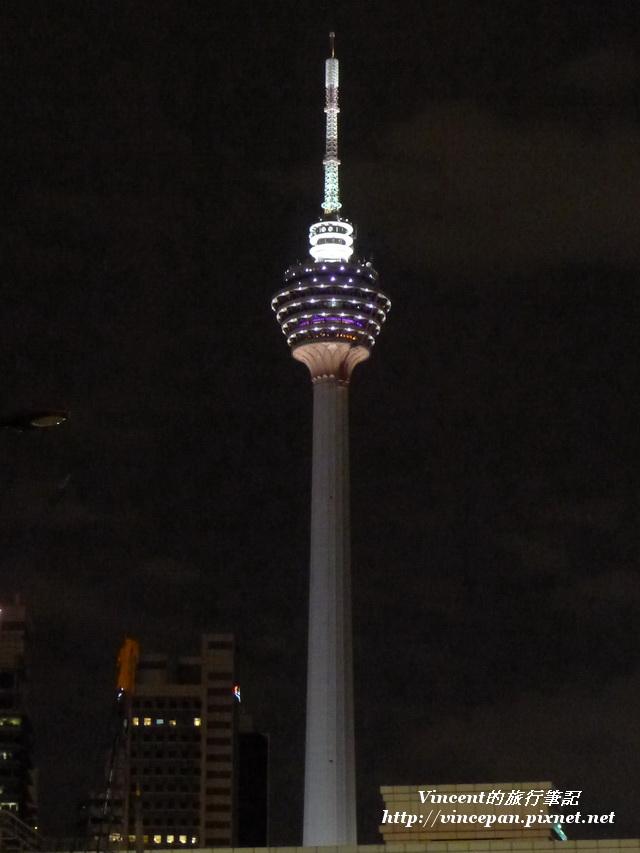 吉隆坡塔 夜 直