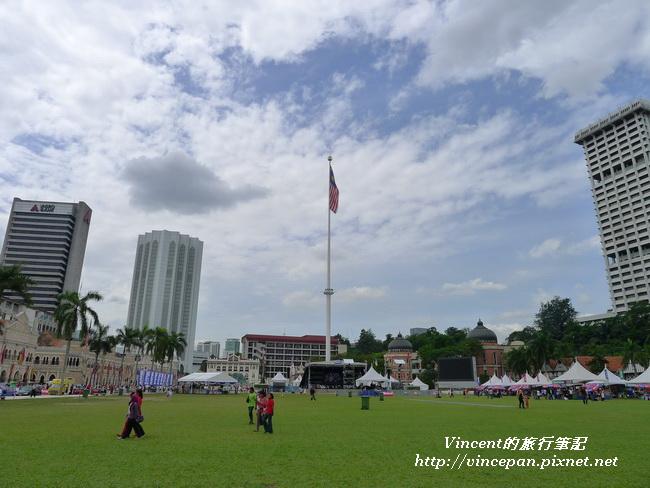 獨立廣場 旗杆